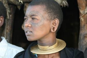 Datoga girl, Lake Eyasi, Tanzania