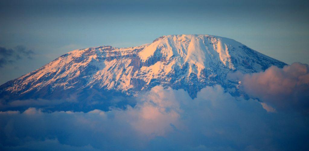Mt. kilimanjaro Tanzania, African Peak