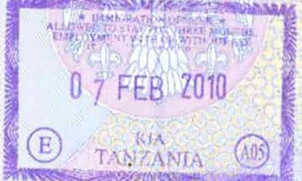 passports Tanzania, travel, Africa