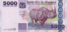 Currency Tanzania