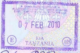 Passport and Visa for Tanzania