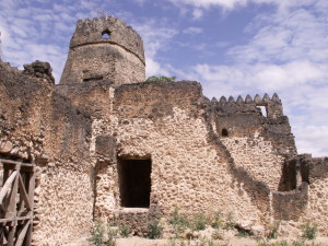 Kilwa, the fort