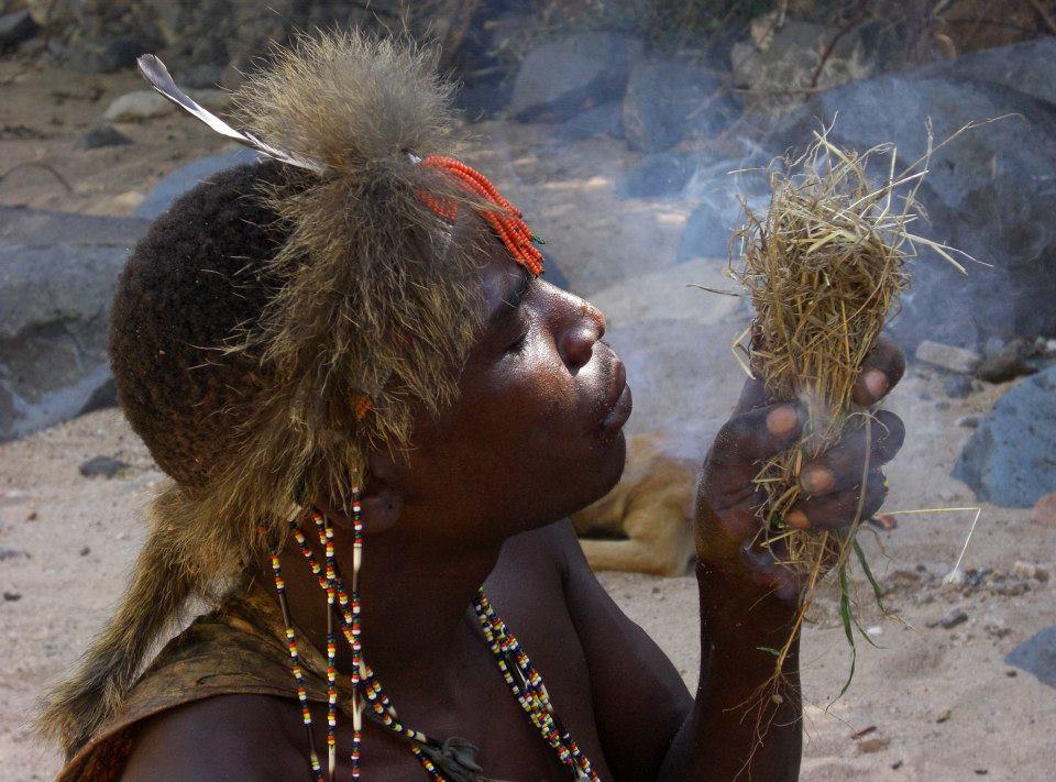 Hadzabe Bushmen - Tanzania - Lake Eyasi