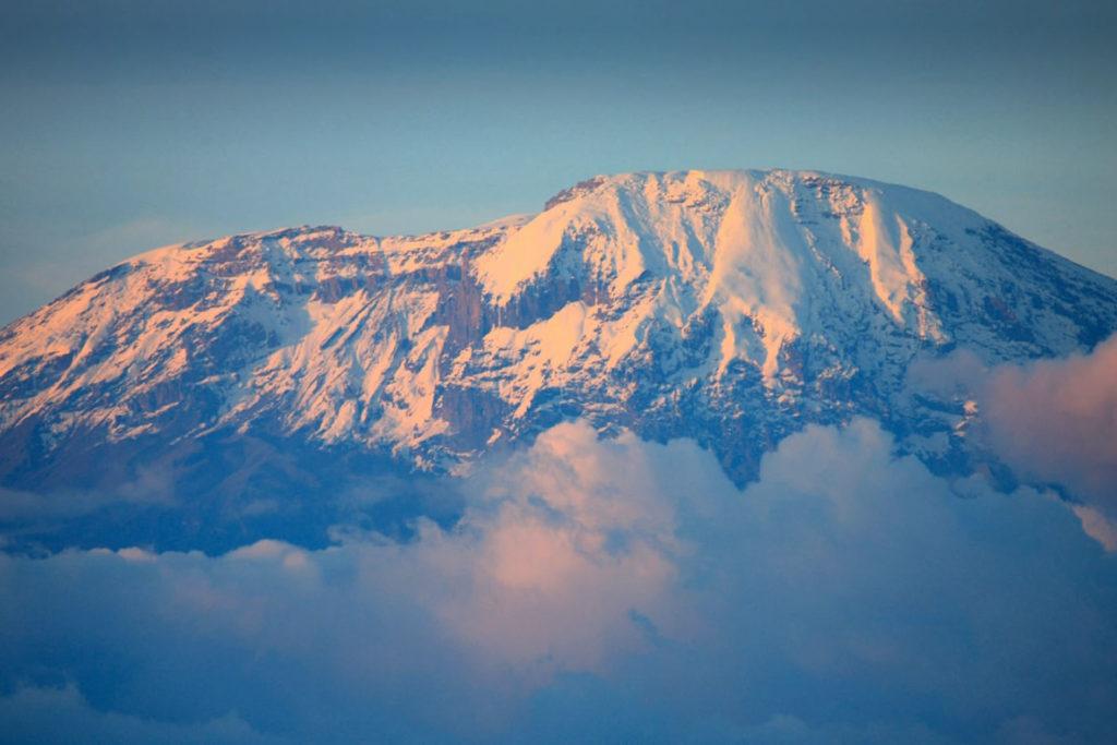 Mt. Kilimanjaro, peak of Africa, Tanzania