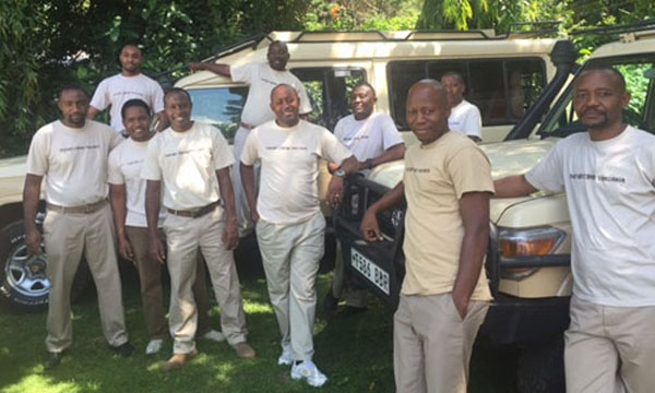 Safari Crew Tanzania team, safari organizing
