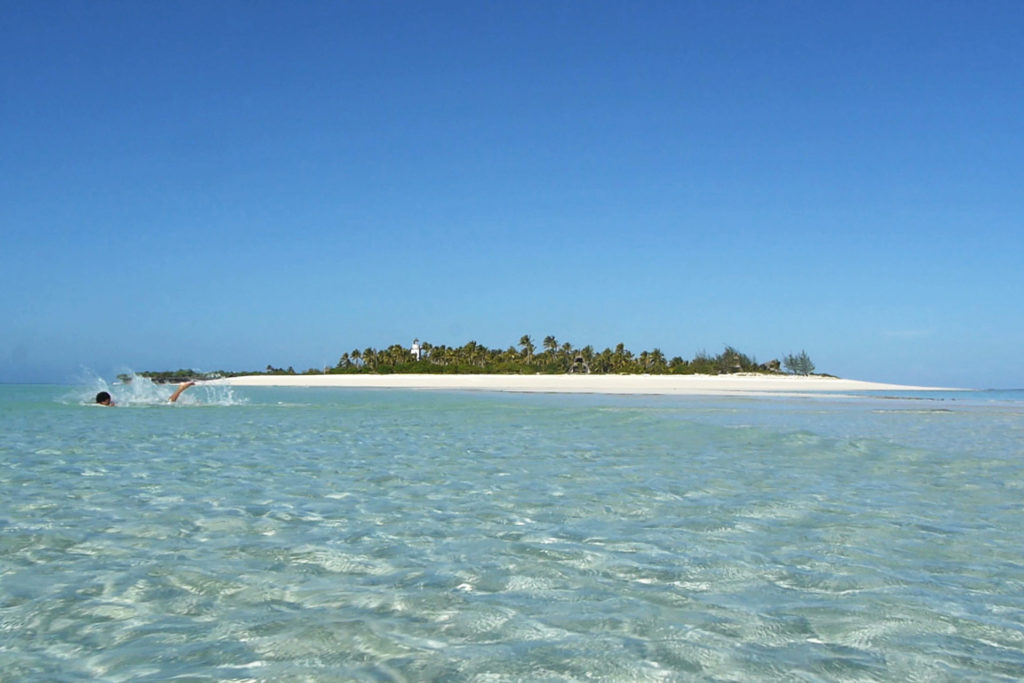 Tanzania beach, Mnemba, Zanzibar, Tanzania