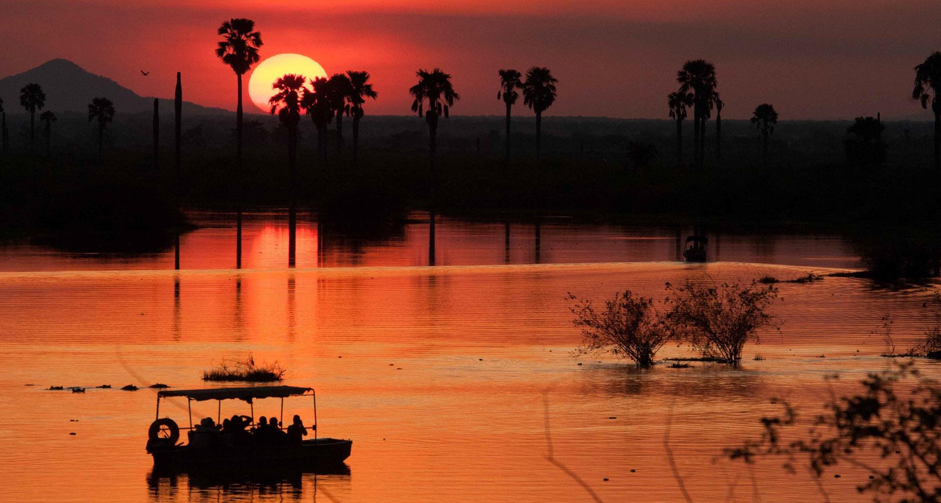 Boat safari Selous, Safari Parchi Sud Tanzania
